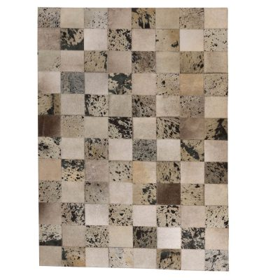 Patchwork Leather/Cowhide Rug 11P4156 120x180cm