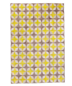 Patchwork Leather/Cowhide Rug 12P5040 140x200cm 1