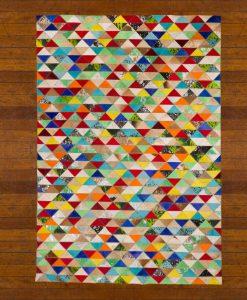 Patchwork Leather/Cowhide Rug 12P5053 170x240cm 2