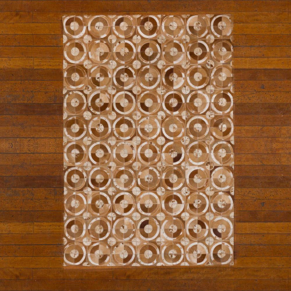 Buy Patchwork Leather Cowhide Rug 120x180cm Sku 12p5057