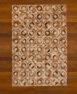 Patchwork Leather/Cowhide Rug 12P5057L 140x200cm 2