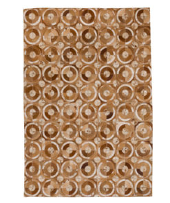 Patchwork Leather/Cowhide Rug 12P5057 120x180cm 1