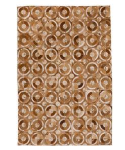 Patchwork Leather/Cowhide Rug 12P5057L 140x200cm 1
