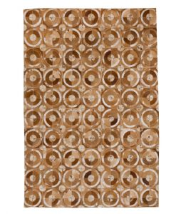Patchwork Leather/Cowhide Rug 12P5057L 140x200cm 1