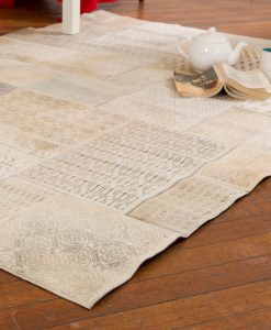 Patchwork Leather/Cowhide Rug 12P5058 140x200cm 2