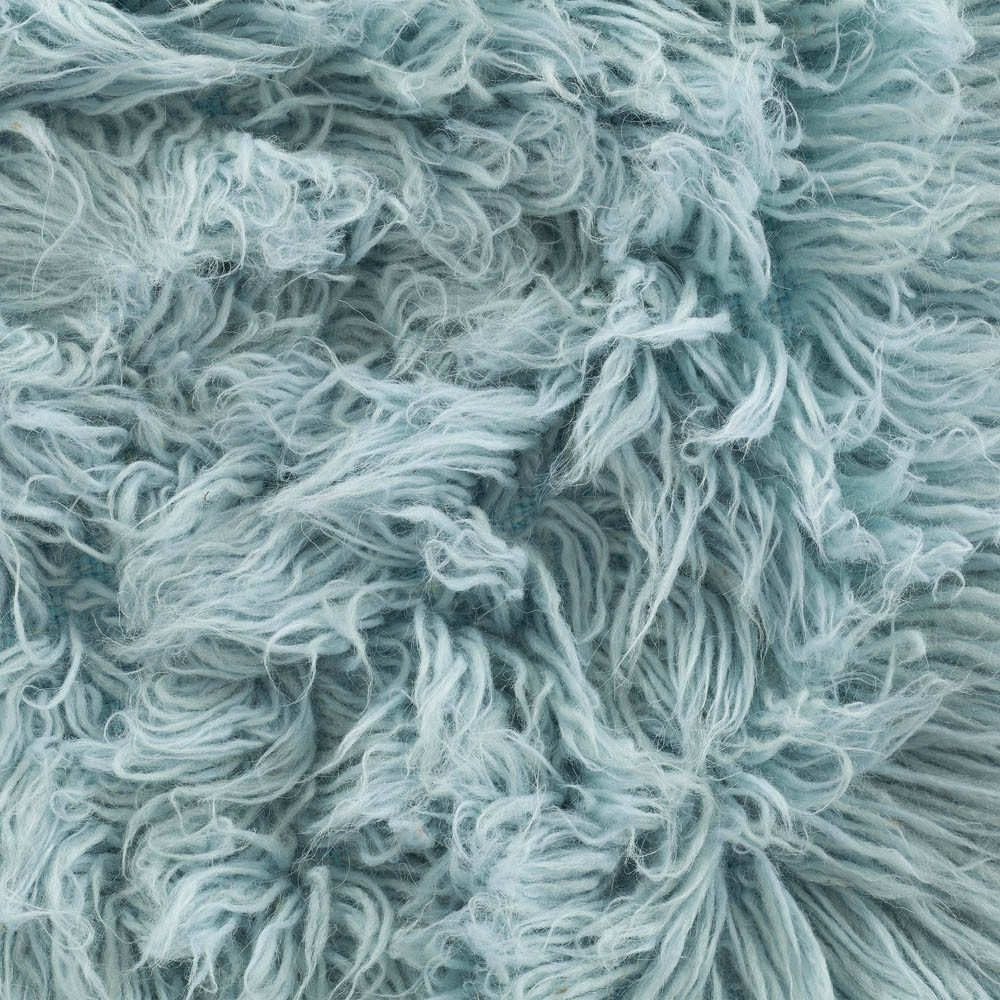 Buy Flokati Rug 1400g M2 140x200cm Blue Sku Bl144 Online