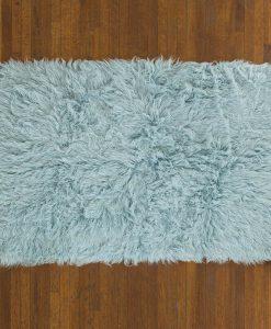 Flokati Rug 1400g/m2 60x120cm Blue 2