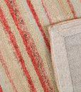 Stripe Rug Wool Jute Bamboo 160x230cm Japan Lover 3