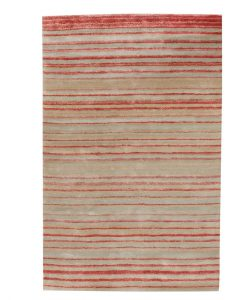 Stripe Rug Wool Jute Bamboo 130x190cm Japan Lover 1