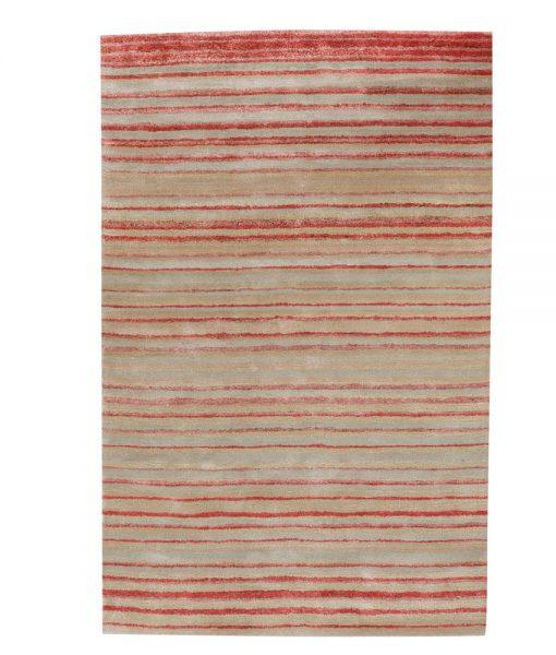 Stripe Rug Wool Jute Bamboo 160x230cm Japan Lover 1