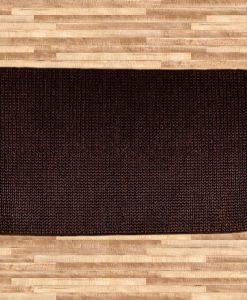 Hemp Braid Rug Brown 70x140cm 1