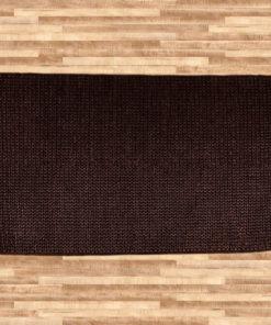 Hemp Braid Rug Brown 110x170cm 1