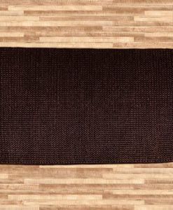 Hemp Braid Rug Brown 110x170cm 1