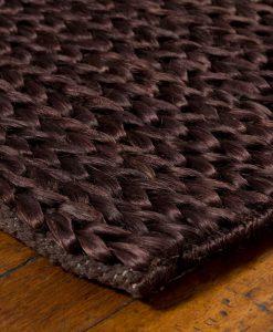 Hemp Braid Rug Brown 70x140cm 2