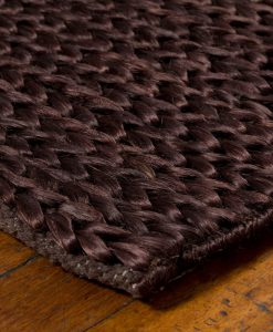 Hemp Braid Rug Brown 110x170cm 2