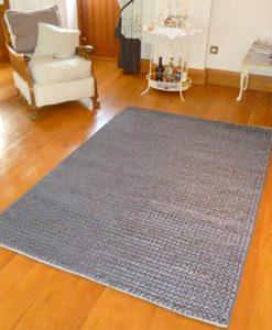 Hemp Braid Rug Grey 110x170cm 1