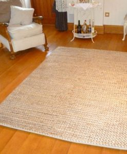Hemp Braid Rug Natural 250x350cm 1