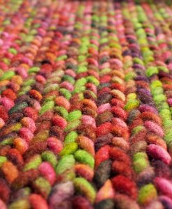 Felted Knit Wool Rugs