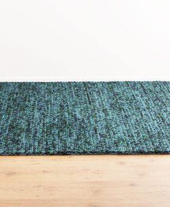 Knit Melange Turquoise 110x170cm 1