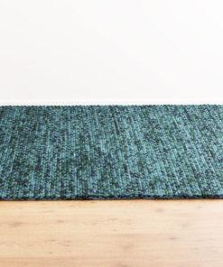 Knit Melange Turquoise 170x240cm 1