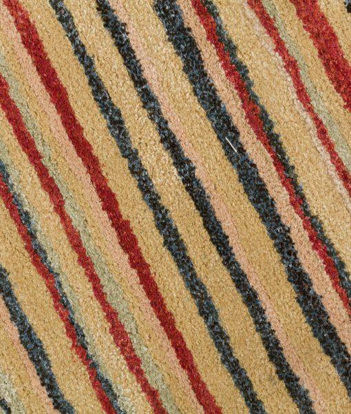 Stripe Rug Wool Jute Bamboo 160x230cm Lincoln 4