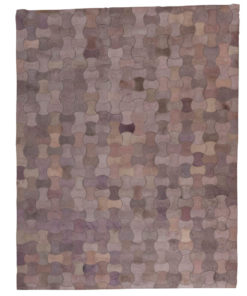 Patchwork Leather/Cowhide Rug MOTSTONE 140x200cm 1