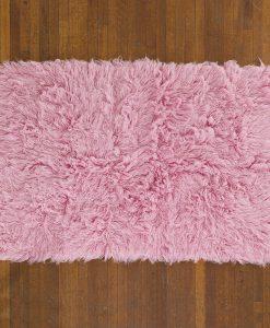 Flokati Rug 1400g/m2 140x200cm Pink 2