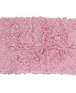 Flokati Rug 1400g/m2 110x170cm Pink 1