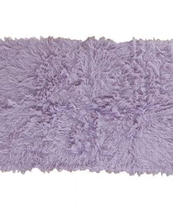 Flokati Rug 1400g/m2 140x200cm Purple 1