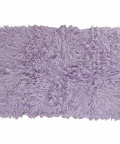Flokati Rug 1400g/m2 170x240cm Purple 1