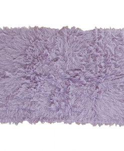 Flokati Rug 1400g/m2 60x120cm Purple 1