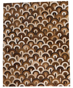Patchwork Leather/Cowhide Rug SGP1625 140x200cm 1