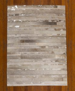 Patchwork Leather/Cowhide Rug SGP1697 120x180cm 2