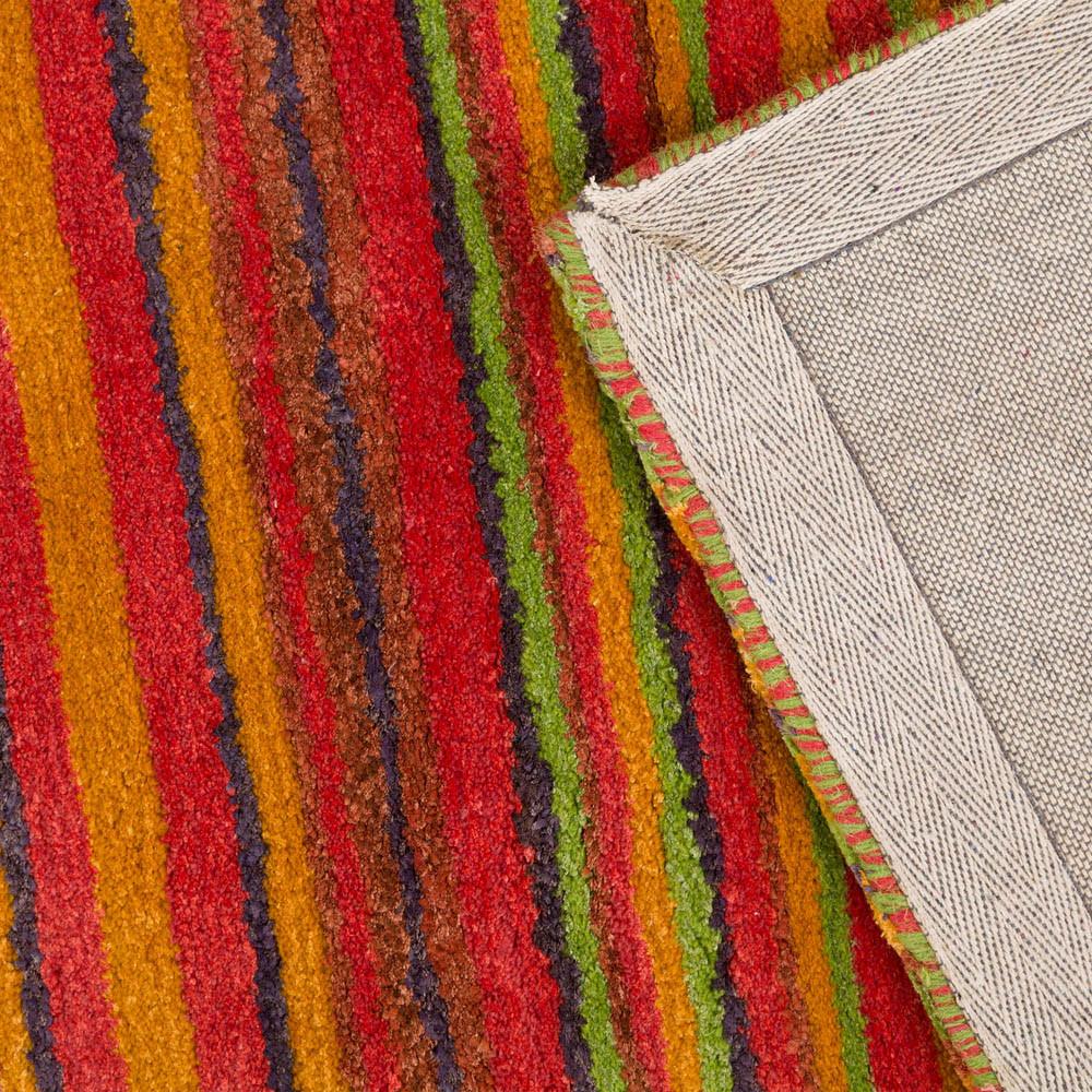 Buy Stripe Rug Wool Jute Bamboo 160x230cm Sugar Sku Sug2