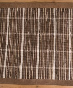 Trasmatta Multi Browns Brown Suede 110x70cm 2