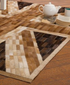 Patchwork Leather Rugs