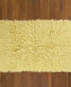 Flokati Rug 1400g/m2 60x120cm Yellow 2