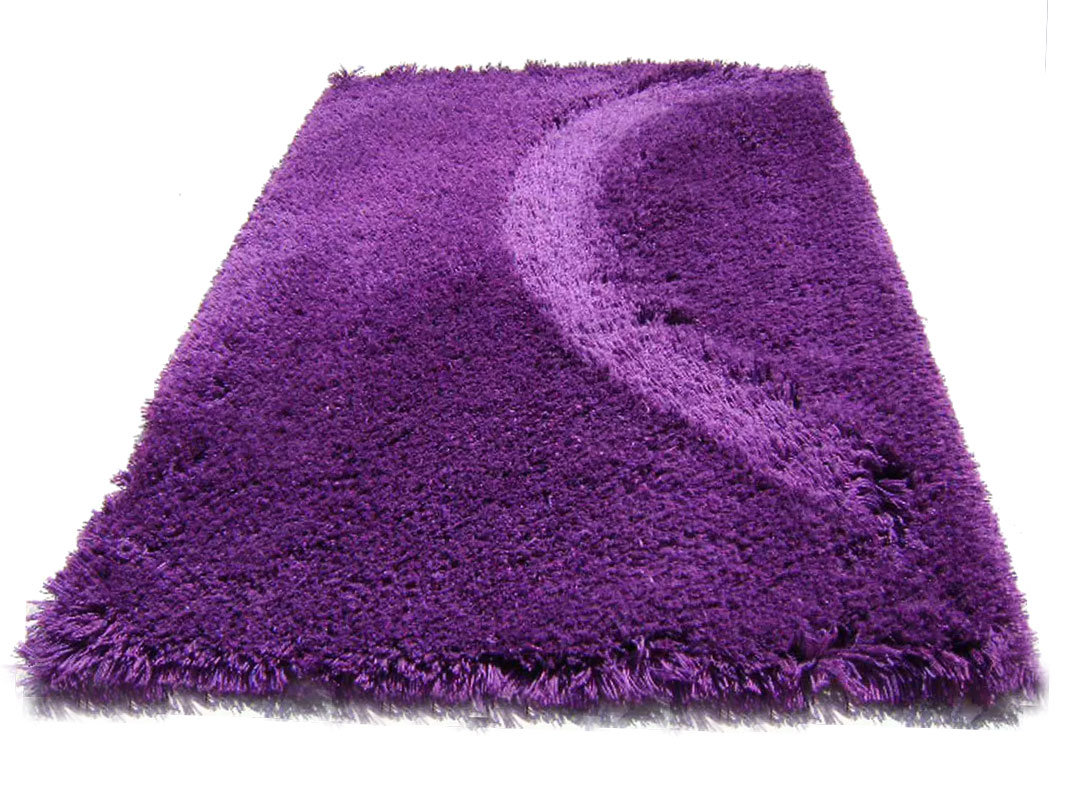 Buy Highlander Shaggy Rug Mixed Purple 240x350cm Sku Hp5