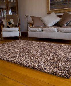 Pebble Felt Brown 110x170cm 1