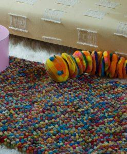 Pebble Felt Farbes Round 90cm Diameter 3