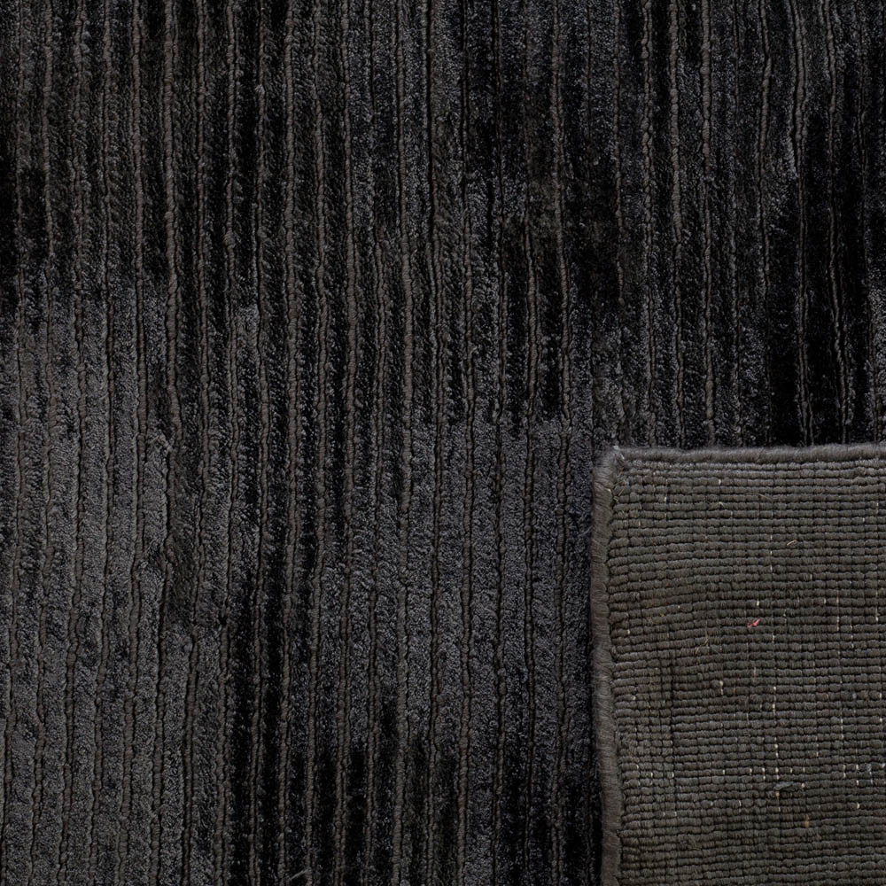 Black Bamboo Rug Buy Salar Bamboo Rug 160x230cm Black The Real Rug