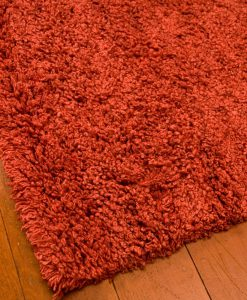 Curly Rug Red 140x200cm 2