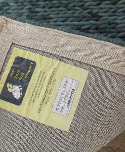 Knit Melange Deep Ocean 170x240cm 2