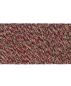Pebble Felt Cranberry 70x140cm 1