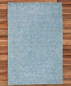 Felt Pebble Rug Turquoise 250x350cm 2