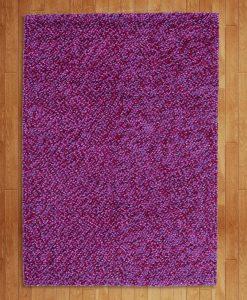 Felt Pebbles Lilac 140x200cm 2