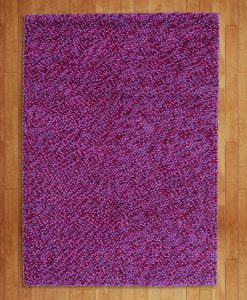 Felt Pebbles Lilac 70x140cm 2