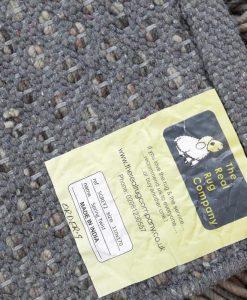 Fusilli Shag Rug Greys 70x140cm 2