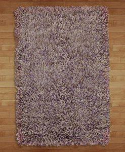 Fusilli Shag Rug Purples/Browns 200x300cm 2