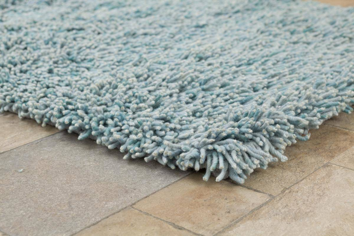 Buy Fusilli Shag Rug Turquoise 200x300cm Online The Real